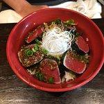 Maguro Don Tuna sashimi
