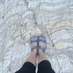 The rocks in Mosaic Canyon are amazing!