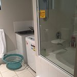 Beautiful pools with one bedroom apartment. In room kitchen with lounge room, washing machine, d