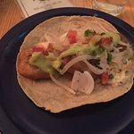 White fish taco (Pescado)