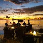 Romantic Sunset Diner Bora Bora Yacht Club