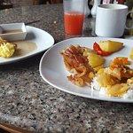 Mediocre breakfast