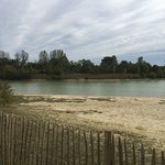 Great area, 200 metres and your at the man made lake with beach, locals swim here. A nature rese