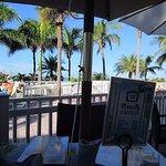 Outdoor breakfast dining