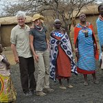 A visit to a nearby Maasai village