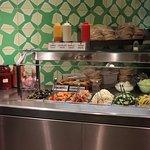 Maoz Vegetarian - fresh salad ingredients