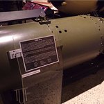 Little Boy. One of the first two nuclear bombs.