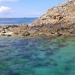 eau ,turquoise, c est en Bretagne