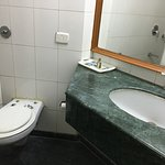 Clean but not well maintained - Shampoo of poor quality