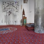 Inside the IsaBey Masjied - oldest masjied in Turkey