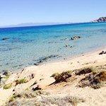 La spiaggia nelle vicinanze