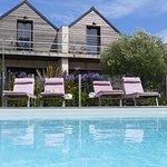 chambres avec vue piscine et parc