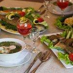Блюда из свежей рыбы