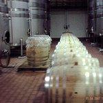 Barrels and tanks.