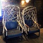 Lobby Decor - Finnish wood