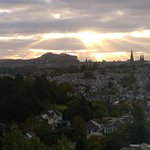 View of Edinburgh from the room