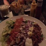 Cobb Salad and Fries