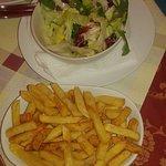 insalata patatine