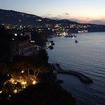 View towards Sorrento main town