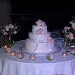 Wedding cake made by Hotel chef
