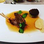 lamb rack [dinner]