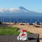 le mont Pico , sur l'île du même nom