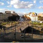 Vista de la plaza desde el Hotel