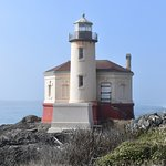 Coquille River Lighthouse in October