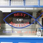 Best Of British front of shop that welcomes customers