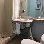 Bathroom small but funcational