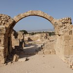 Also within the site is what remains of this Byzantine castle