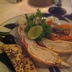Wonderful seafood restaurant