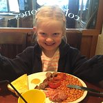 Very excited about the full English!