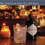 From premium gins and fine craft biers to bespoke whiskies from around the world...