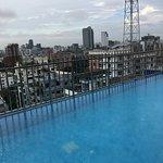 Roof top swimming pool Long Beach Suites Dhaka Bangladesh