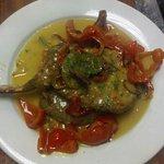 pork chops w/vinegar peppers