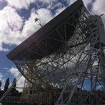 Lovell telescope on the slant