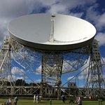 Lovell telescope in the sunshine