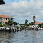 some of the beautiful homes on Tampa Bay