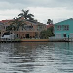 colorful homes on the Bay