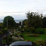 Galway Bay and beautiful gardens