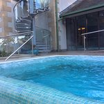 Piscina al aire libre de agua caliente