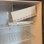 Broken fridge and freezer