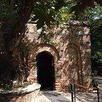 A capela onde foi a casa de Nossa Senhora.