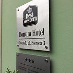 Photo de BEST WESTERN Bonum Hotel