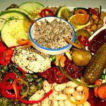 TA' CARDONA SPECIAL PLATTER SERVES FOR TWO PERSONS