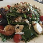 Seafood Salad is the BOMB, as my friend say's!  Food is EXCELLENT!! Service is EXCELLENT! If you