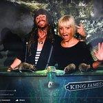 Spooky boat trip !!