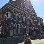 The outside of the Ryman Theatre