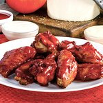 Tangy BBQ Shwings; hot and mild also.